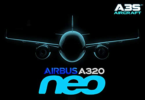 Airbus A320neo A3S Aircraft (01) (Spanish Edition)