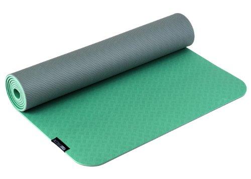 Yogistar Yogamatte Pro - sehr rutschfest - Grün