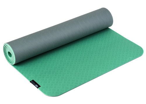 Yogistar PRO Materassino da Yoga, Verde (Vert)