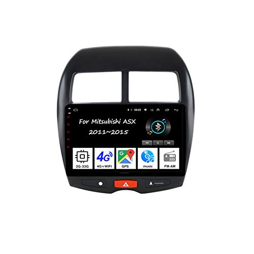 Car Multimedia autoradio Bluetooth,doppel din Radio 4core 2G+32GFür Mitsubishi ASX 2011-2015 Auto Zubehör navigationsgeräte GPS Bildschirm USB Sd GPS Tuning Gerät Car Video Player
