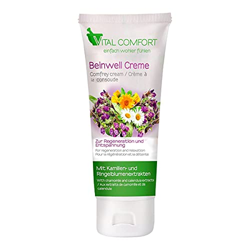Vital Comfort Crème de soin jambes, 100 ml, blanc