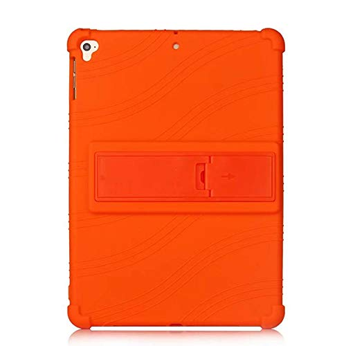 Silicon Case for iPad 10.2 2019 7th Gen Soft Case Full Body Cover for iPad pro 10.5 Air 3 2019 case-orange