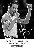Salopian Sales Freddie Mercury Hommage Retro-Poster –