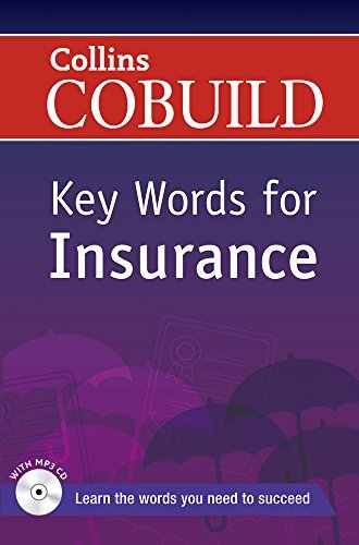 Key Words for Insurance: B1+ (Collins COBUILD Key Words) by Collins UK(2013-04-25)