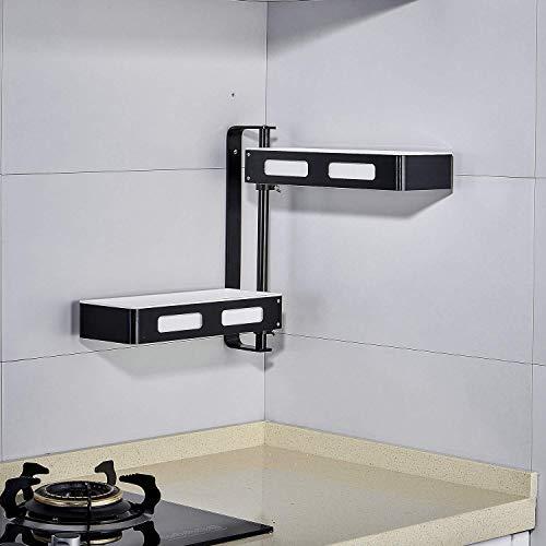Estante organizador de cocina de 2 niveles,...