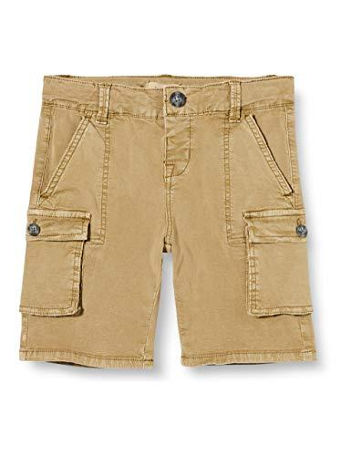 NAME IT Jungen NMMBARRY TWIBATELLA Cargo Long Shorts CF Cargos, Kelp, 98