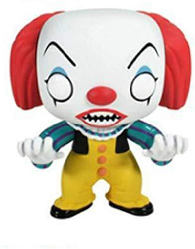 WangMaZi Funko Pop Ghost Baby Resurrection Motosierra Horror Chaqi Modelo Adornos Muñecas en Caja Juguetes Adornos coleccionables Multicolor-C