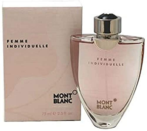 Mont Blanc Femme Individuel Spray para Mujer, 2.5 Oz/75 ml