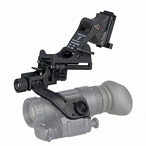 WTZWY Taktischer Airsoft NVG Nachtsicht-Taktischer Helm J-Arm Headset-Adapter PVS 14-Halterung für schnellen M88 Mich-Helm