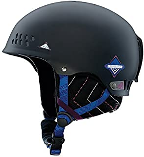 K2 Emphasis Women's Helmet Black Black Size:Taille S (51-55 cm)