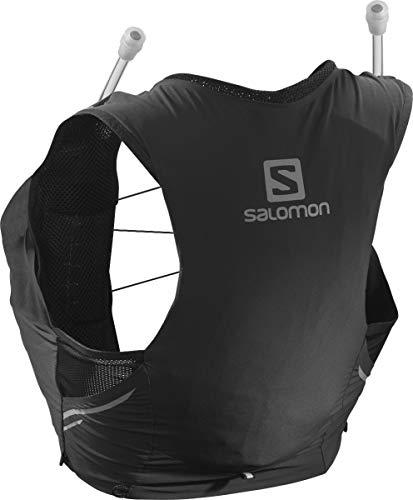 Salomon Womens Sense Pro 5 Set Running Hydration Vest, Black, Small