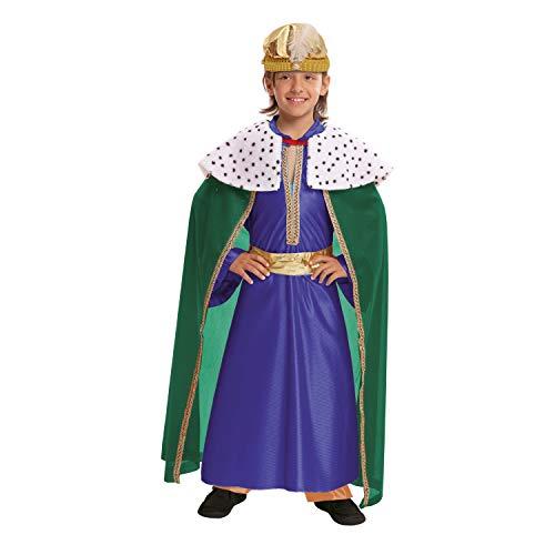 VIVING-Costume Re Mago Azul3-4Anni