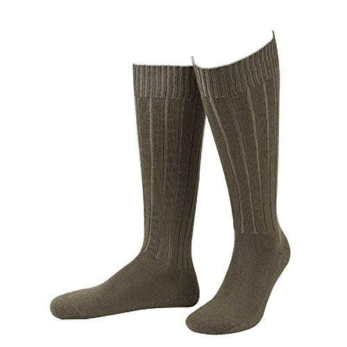 JD 0613 Calcetines, oliv, 48-50 Unisex Adulto
