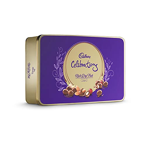 Cadbury Celebrations Rich Dry Fruit Chocolate Gift Box, 177 g