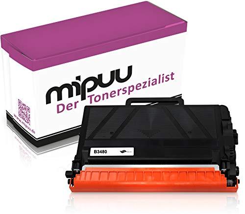 Mipuu toner compatibel met Brother TN-3480 zwart voor HL-L5100dn MFC-L5750dw DCP-L5500dn HL-L5200dw HL-L6300dw HL-L6400dw MFC-L5700dn