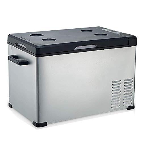 SHKUU Refrigerador para automóvil con compresor, refrigerador portátil, congelador para camión, Silver-30L