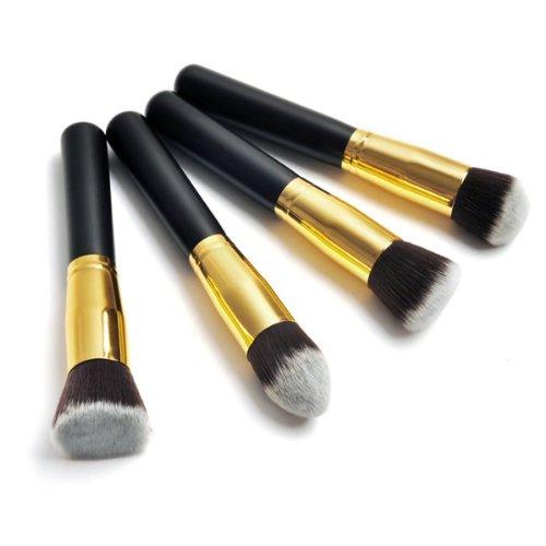 6 4 Pincel Brocha Maquillaje conjunto de cepillos Brocha Sombra Blush Corrector...