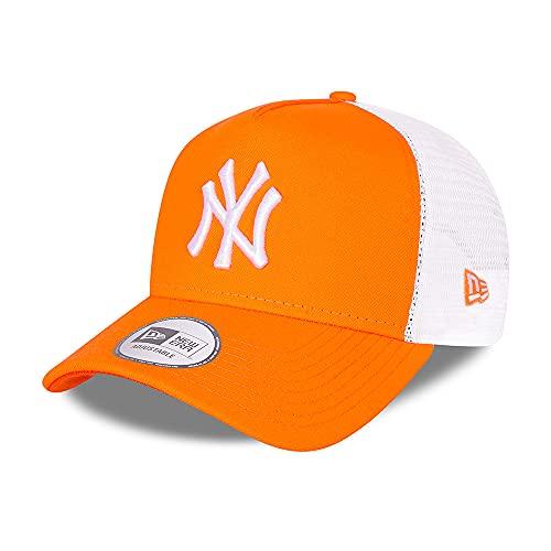 New Era Unisex Baseballkappe, Orange, Einheitsgröße