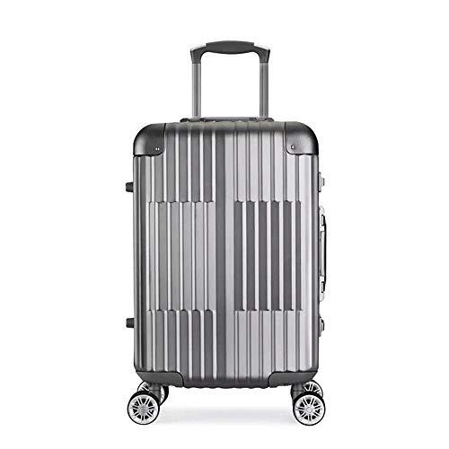 Ys-s Personalización de la tienda De gama alta totalmente de aluminio-magnesio aleación de carro suitcaseFashion toda de metal carro de la caja del equipaje maleta trolley prueba de agua, caja de enví