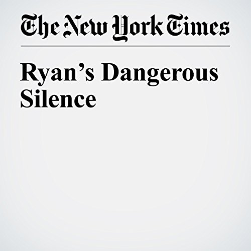 Ryan's Dangerous Silence cover art