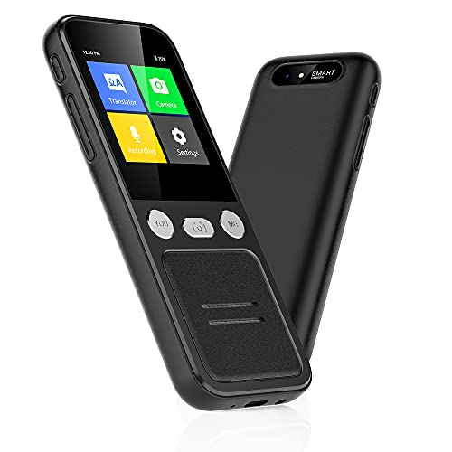 Language Translator Device for All Languages, Support 138 Languages Online Translation, Photo Translation, Offline Translation, Portable Instant Two Way Translator with 98% Accuracy, 0.2s Response