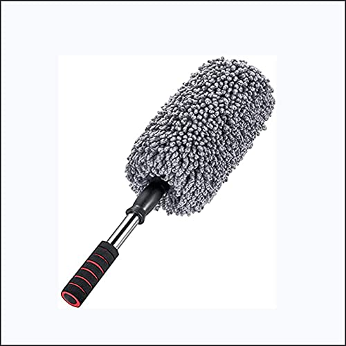 LUWEI Super Soft Microfiber car dust Collector with Retractable Handle on The Outside, car Brush dust Collector, Used for car Cleaning and dust Removal,clean Dashboard dust Collector