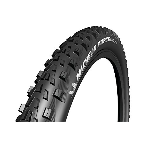 MICHELIN PNEU 26X2.35 (58-559) Force Enduro Rear Gum-X T.Ready Neumático de Bicicleta, Unisex Adulto, Negro
