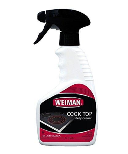 Weiman Home Kitchen Cook Top Cleaner Spray 12 oz - 4 Pack