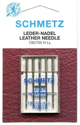 Schmetz Leather Needle Range (Packs of 5) - Various Sizes (100/16) by Schmetz