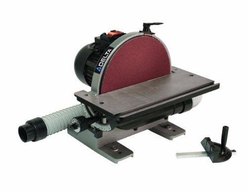 Delta Power Equipment Corp 31-140 Disc Sander, 1/2 Horse Power, 12-Inch