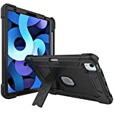 ProCase iPad Air 4 10.9 inch 2020 Protective Case, Kids Friendly Heavy Duty Shockproof Rugged Case with Built-in Pencil Holder Kickstand for 2020 Release Apple iPad Air 4 10.9