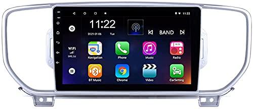 Autoradio Android Radio Sat Nav Doppio Din per KIA/Sportage 3 4 2016-2019 Navigazione GPS DSP RDS Touch screen da 9 pollici Unità principale Lettore multimediale Ricevitore video