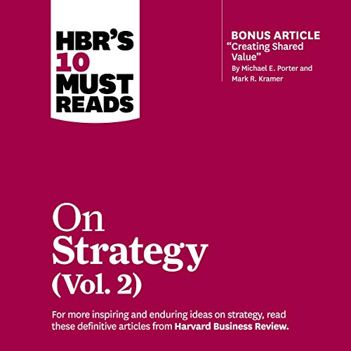 HBR's 10 Must Reads on Strategy, Vol. 2 cover art