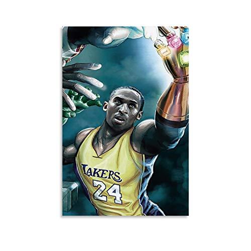 Aputu Kobe Bean Bryant - Póster decorativo de baloncesto (50 x 75 cm)