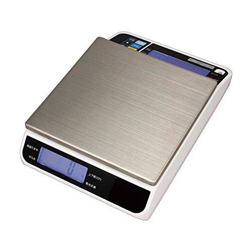 タニタ デジタルスケール 対面表示 4kg ホワイト TL-290