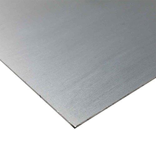 Online Metal Supply 2024-T3 Alclad Aluminum Sheet, 0.063' x 24' x 36'
