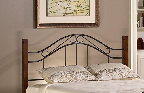 Hillsdale Furniture Matson Headboard, Full/Queen, Cherry/Black