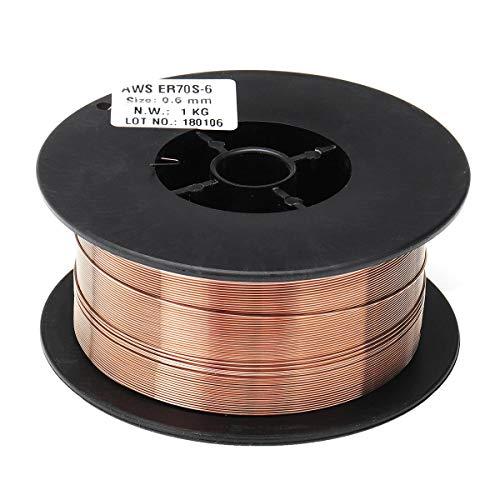 QCY AT 0.6mm 1KG Weichstahl MIG Schweißen Welder Wires Hergestellt aus rostfreiem