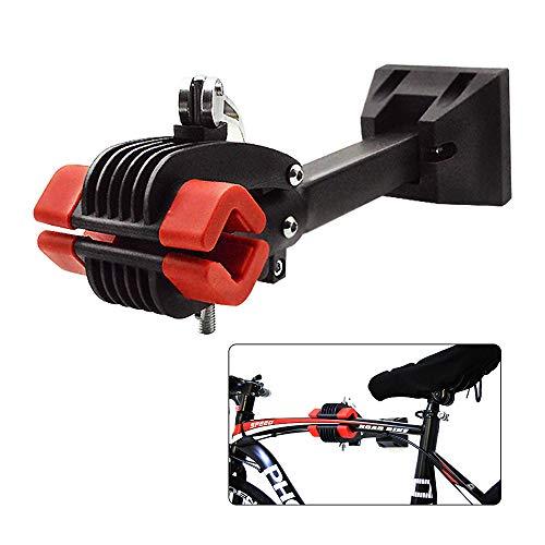 teraysun Foldable Heavy Duty Bike Repair Stand Wall Mount Bike Repair Workstand,Rugged and Stable Bike Repair Rack Stand