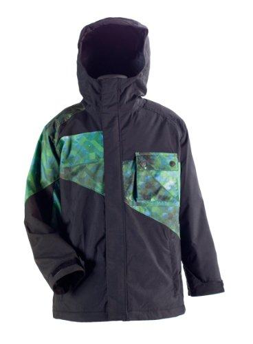 Nitro Kinder Jacke Boys Decades, Black/Stardust, XL, 1121-872853_1058