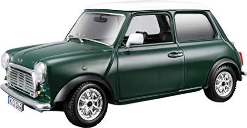Bburago–Mini Cooper Spielzeug-Auto, Grün (18–22011G)