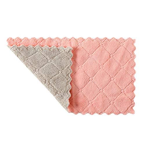 20-teiliges Reinigungstuch, saugfähiges Verdickungstuch aus Mikrofasertuch, verwendet in wiederverwendbaren Reinigungstüchern für die Küche zu Hause, 10,2 Zoll x 6 Zoll