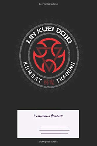 Composition Notebook: Mortal Kombat Lin Kuei Dojo Colored Dirty Ruled School Office Home Student Teacher 100 Pages
