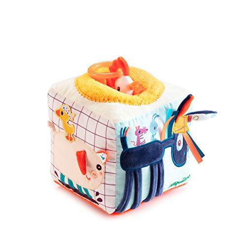 LILLIPUTIENS L-83156 - Cubo de actividades con sonidos (Producto para bebé)