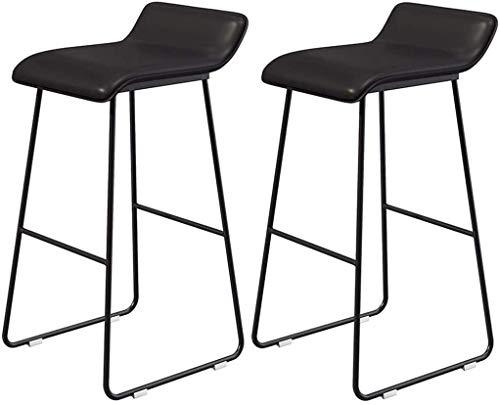 Barkruk, barkruk, vintage, hoge kruk, barkruk, keukenstoelen, eetkamer, meubel, zwart, maat: 70 cm