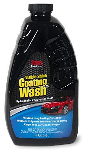 Stoner Car Care 91215 Visible Shine Coating Wash, Car Polishes and Wax, 2-in-1 Car Wash and Car Wax, Carnauba Wax, 48-Fluid Ounces, Set of 1