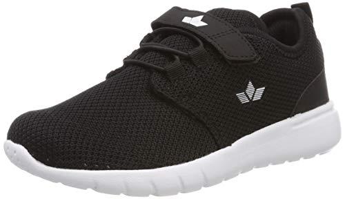 Lico Pancho VS Unisex Kinder Sneaker, Schwarz/ Weiß, 31 EU