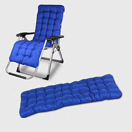 DL&VE Patio Chaise Lounger Cushion,Indoor Outdoor Chaise Lounger Cushions,Soft Cushions For Lounge Chair Beach Chair Foldable Cotton Seat Outdoor Patio