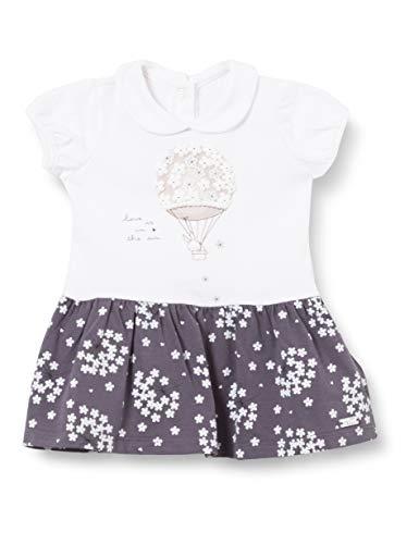 Chicco Baby-Mädchen Abito Manica Corta Kleid mit kurzen Ärmeln, 096, 86 cm