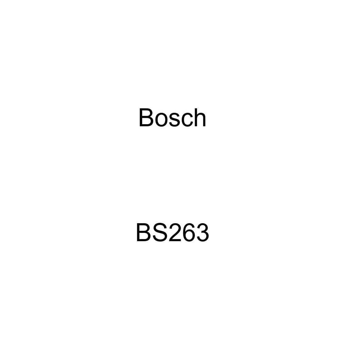 Bosch BS263 Blue Disc Brake Shoe Set